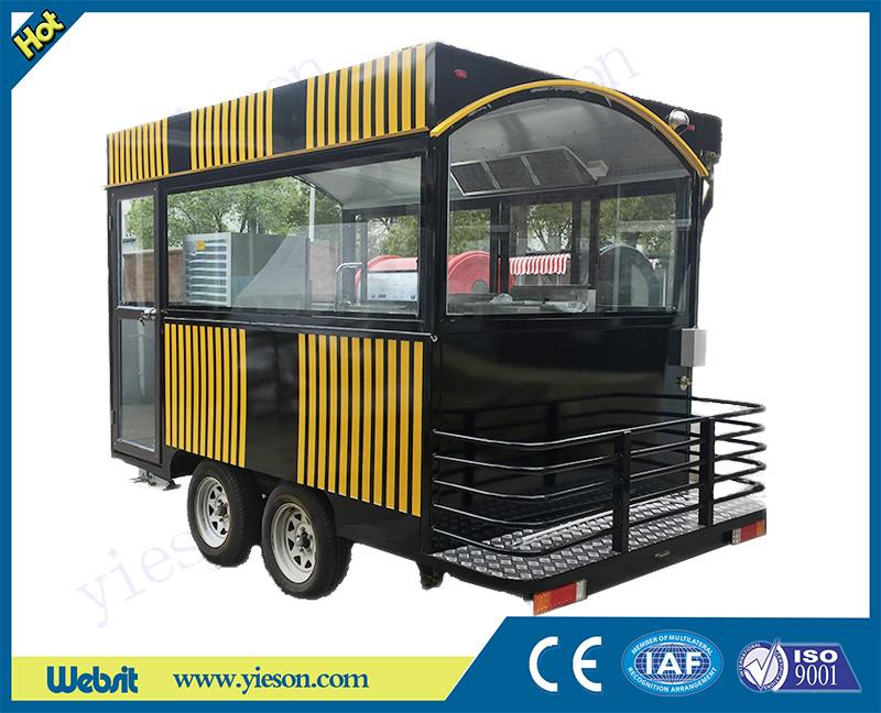 Shanghai Yieson Machine Co , Ltd ,mobile food trailer,food